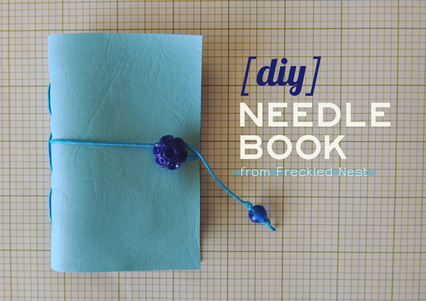Diy needlebook