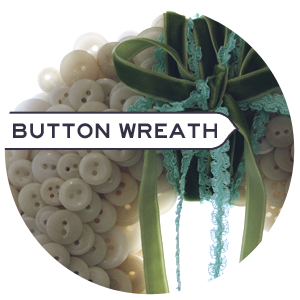 Make a Wreath with Buttons!