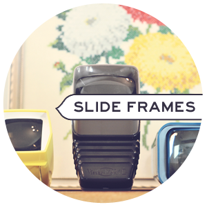 Slideviewers as Picture Frames