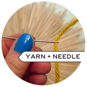How to Fit Yarn through a Tiny Needle