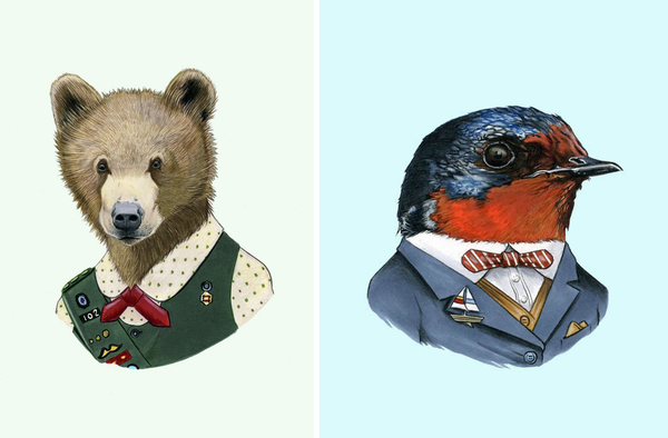 Berkley Illustration_scout&bird