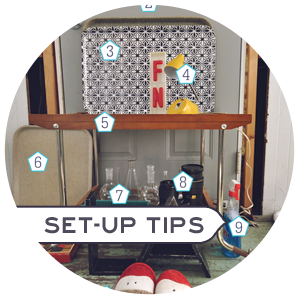 Set-up tips