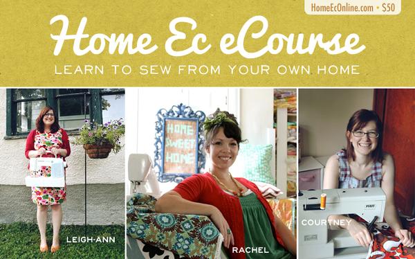Home Ec eCourse $50