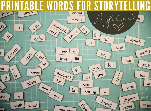 Printable words